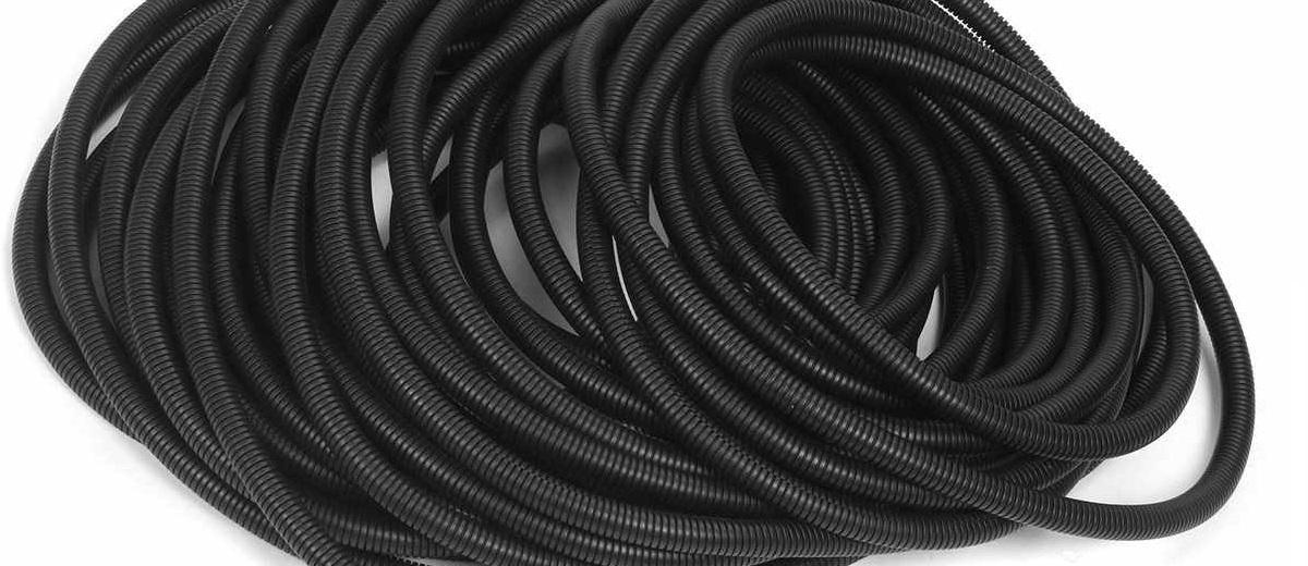 Corrugated Split Tubing